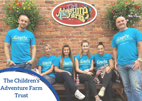 Capify Cares- The Children's Adventure Farm Trust