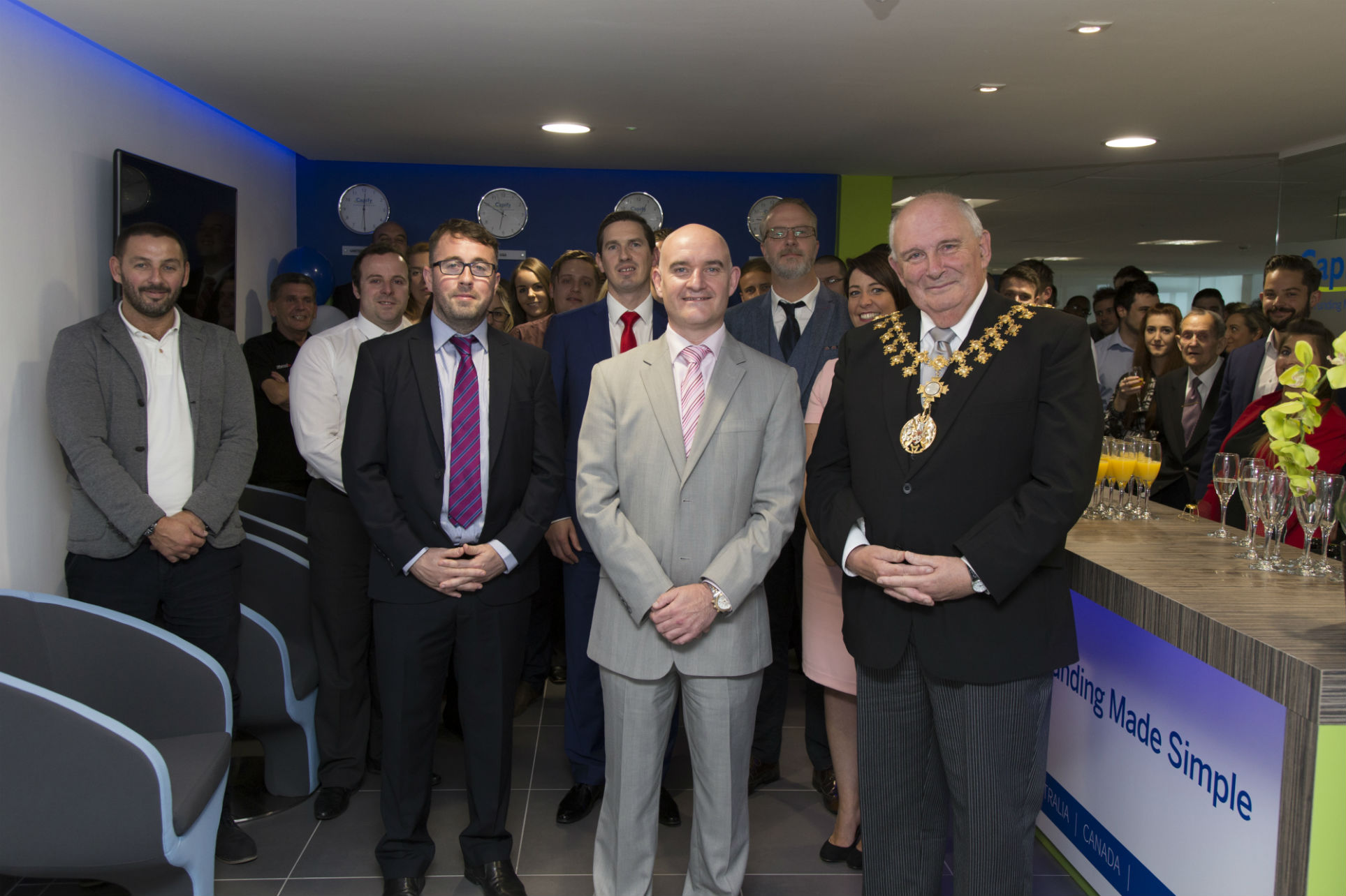 Group- Office Opening