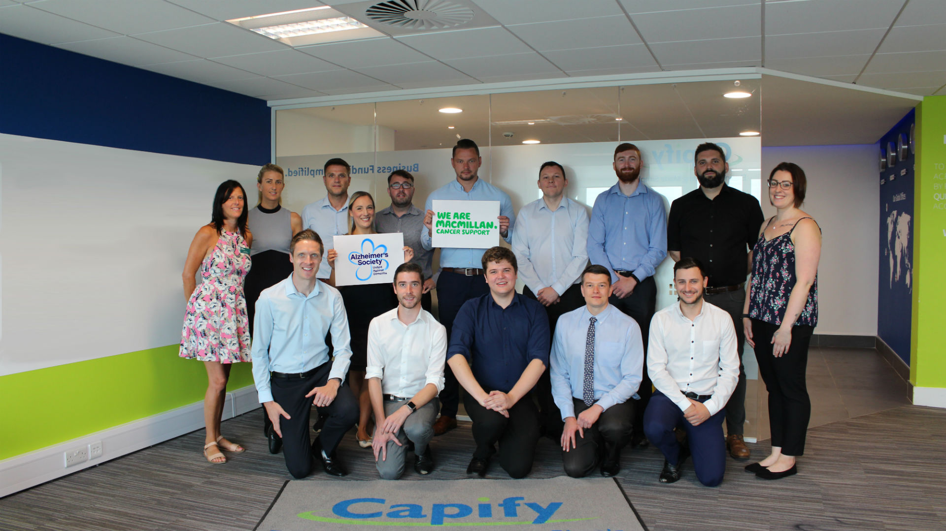 Team Capify Start Training for the Manchester Half Marathon