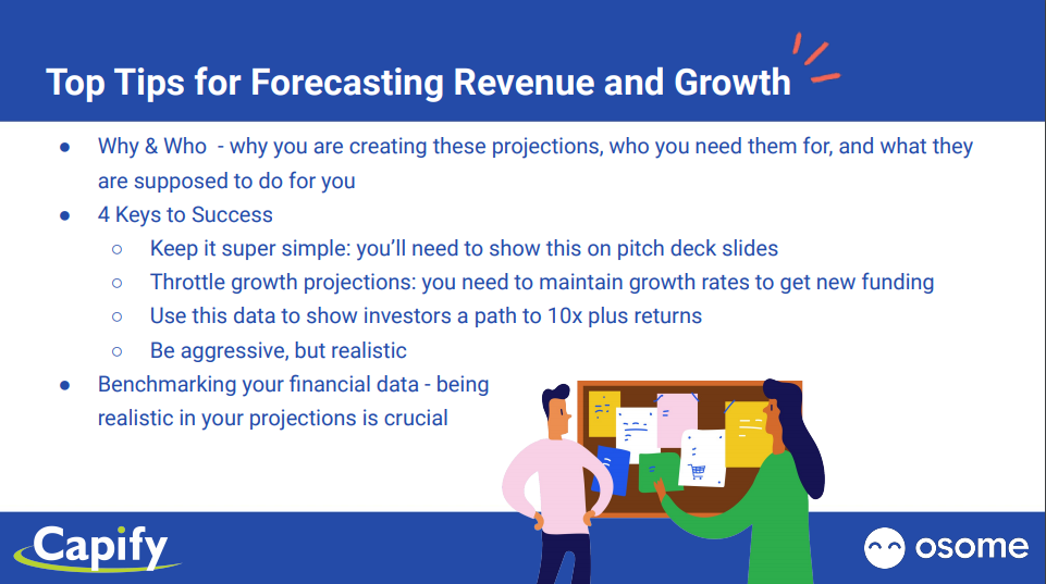 Top Tips for Forecasting and Growth